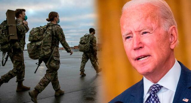 Joe Biden se fijó el 31 de agosto para retirar la mayoría de las tropas estadounidenses restantes de Afganistán.
