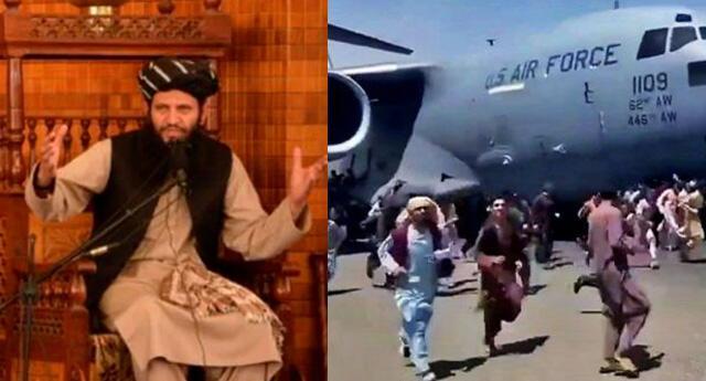 Los afganos desesperados intentaron huir de Afganistán en aviones estadounidenses.