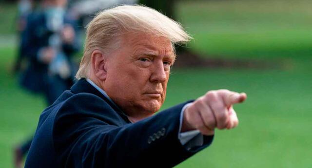Donald Trump consideró que Estados Unidos tuvo una derrota humillante en Afganistán.