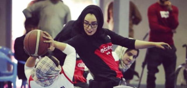 La nueva vida de Nilofar Bayat, la capitana de la selección afgana de baloncesto en silla de ruedas