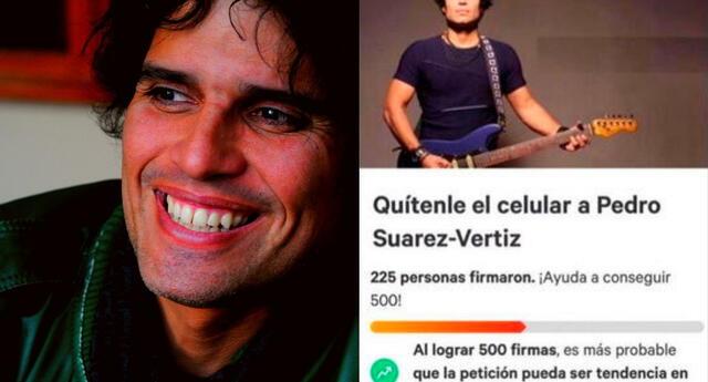 Pedro Suárez-Vértiz se hizo tendencia en Twitter.
