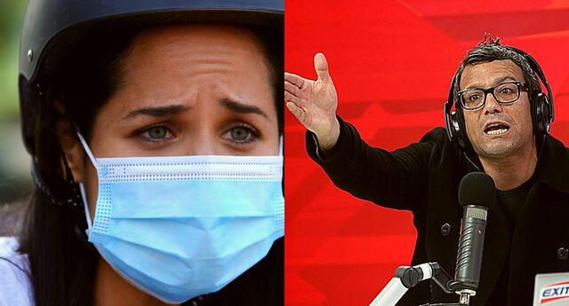 La tensa discusión entre el periodista y la congresista se volvió viral en las redes sociales.