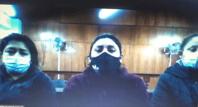 Dictan prisión para la alcaldesa de San Juan de Miraflores María Cristina Nina Garnica y su pareja Walter Huamán Hidalgo