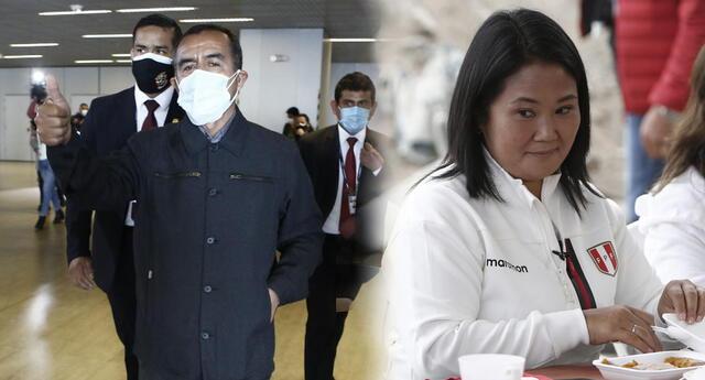 Iber Maraví le responde a Keiko Fujimori por vincularlo con SL.