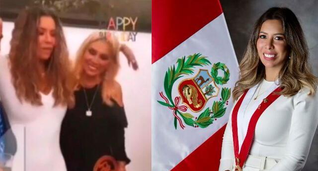 """La congresista de Avanza País, Rosselli Amuruz, justifica su fiesta COVID-19: """"Es para reactivar la economía"""""""