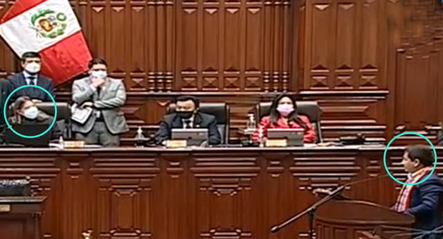Guido Bellido inició su discurso en quechua y al Parlamento no le gustó.
