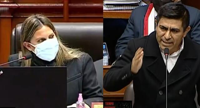 María del Carmen Alva fue criticada por pedir a Guido Bellido que hable castellano y no quechua. Congresista de Perú Libre se pronunció.