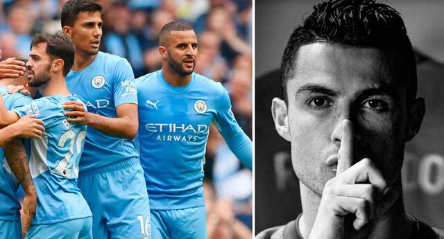 Manchester City está dispuesto a fichar a Cristiano Ronaldo.