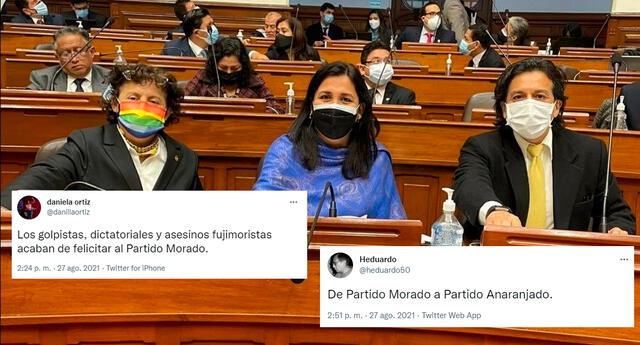 El Partido Morado fue tendencia en Twitter.