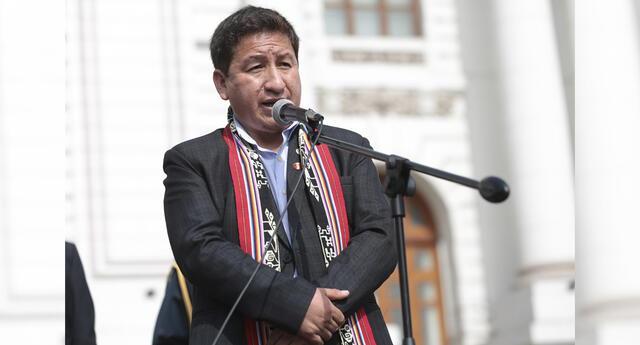 Guido Bellido se pronunció sobre su sustentación ante el Congreso en quechua.