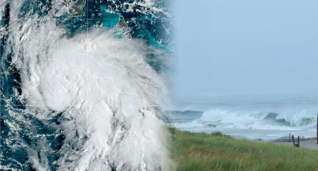 El huracán Ida se desplaza hacia el noroeste del Mar Caribe.