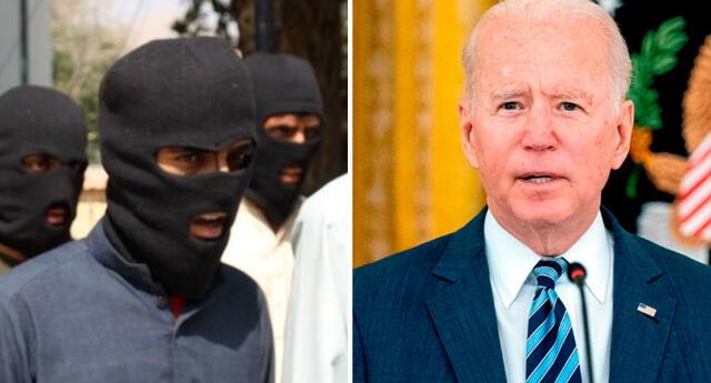 El ataque aéreo se produjo después de que Biden declarara el jueves que los autores del ataque no podrían esconderse.