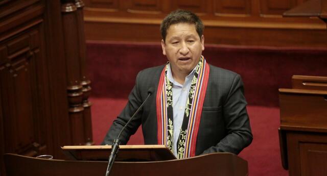 Guido Bellido y ministros de Estado expusieron la política de Gobierno para pedir el voto de confianza. Foto: PCM