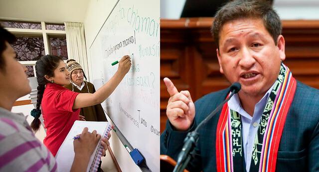 El discurso de Guido Bellido en quechua abrió debate en redes sociales sobre el uso del idioma de los incas.