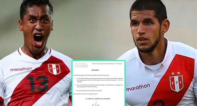 TAS falló a favor de la FIFA y los clubes tienen que permitir la salida de sus futbolistas para la triple fecha de Eliminatorias.