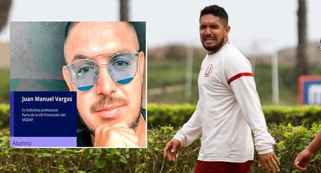Juan Manuel Vargas revela la carrera que estudiará tras alejarse del fútbol.
