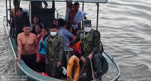 Confirman la muerte de 11 personas tras accidente en el río Huallaga
