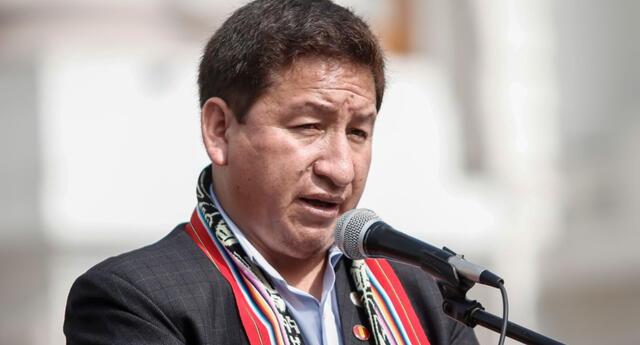 Guido Bellido asegura no haber agredido con términos sexistas a la congresista de Avanza País, Patricia Chirinos.