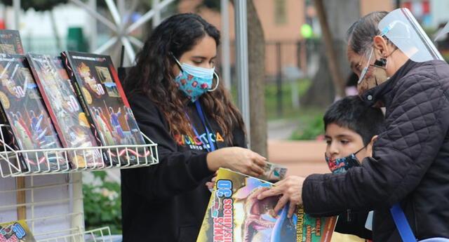 Municipalidad de Miraflores y Cámara Peruana del Libro presentan 42ª Feria del Libro  Ricardo Palma