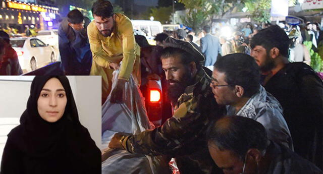 Najma Sadeqi fue una de las víctimas del atentado del aeropuerto de Kabul.