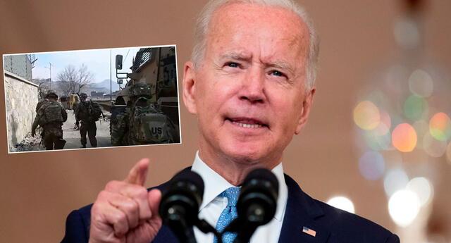 Joe Biden se pronunció este martes sobre salida de tropas estadounidenses de Afganistán.