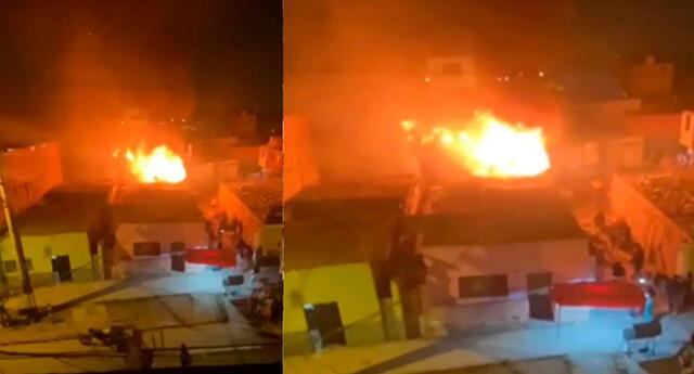 Incendio de gran magnitud consume vivienda en Malambito
