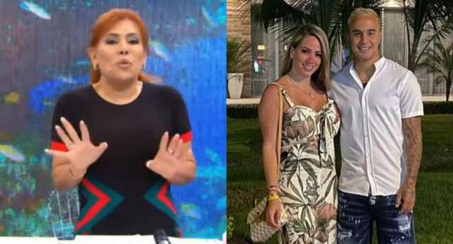 Magaly Medina confirmó que Melissa Klug estaría a punto de convertirse en madre por sexta vez, ahora con su pareja Jesús Barco.