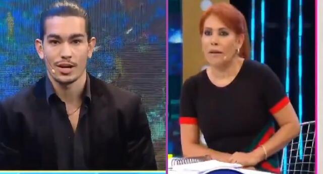 Giuseppe Benignini responde ante acusaciones en programa de Magaly Medina.