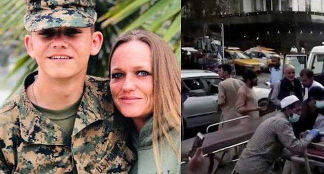Su hijo fue uno de los 13 miembros estadounidenses que fallecieron en el ataque.