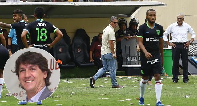 Jean Ferrari dejó un particular mensaje tras la oficialización de Gregorio Pérez como nuevo técnico de Universitario.
