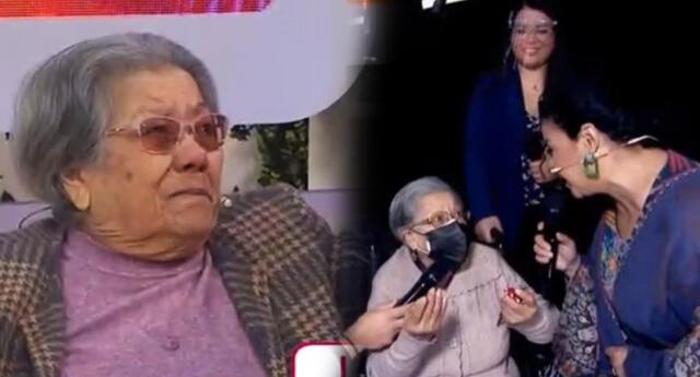 Abuelita Mónica emocionó a cibernautas con sus bellas palabras.