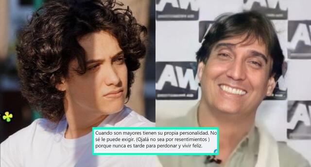 Los cibernautas recordaron la lucha de Vasco Madueño por se reconocido como hijo de Guillermo Dávila, y le pidieron no tener más resentimientos.