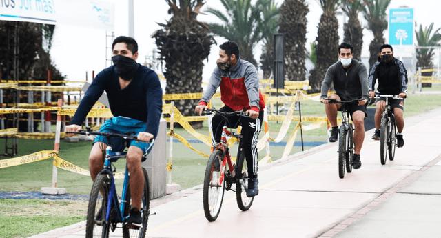 Este viernes 3 de setiembre ya no se aplicarán multas a ciclistas