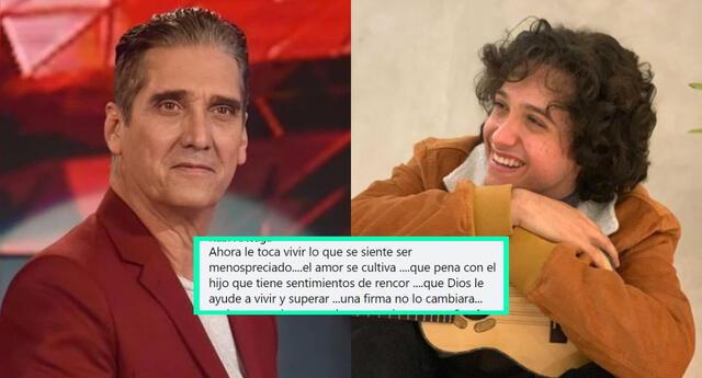 Los cibernautas en redes sociales celebraron que Vasco Madueño no haya acudido a cita de Reniec para ser reconocido como hijo de Guillermo Dávila.