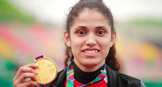 Angélica Espinoza le dio una alegría al Perú luego de ser ganar una medalla de oro en Tokio 2020.