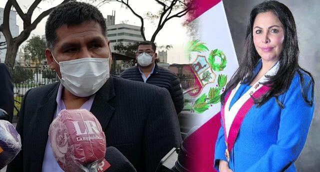 Congresista de Perú Libre dijo desconocer lo que se dijeron Bellido y Chirinos.
