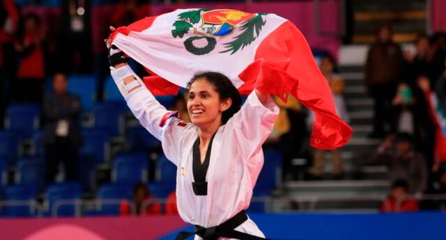 Angélica Espinoza se consagró como la mejor de Tokio 2020.