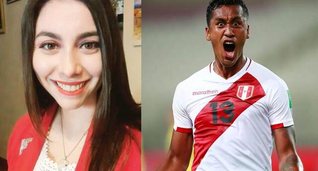 """Vanya Thais y su singular manera de alentar a Perú: """"Me llega si Tapia es rojo, que meta gol"""""""