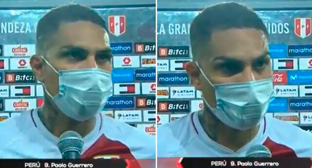 ¿Qué pasó? Paolo Guerrero habló tras el empate de Perú vs. Uruguay en el Estadio Nacional.