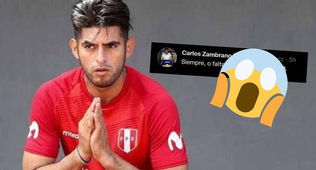 Selección peruana: Carlos Zambrano y el mensaje que encendió las redes [FOTOS]
