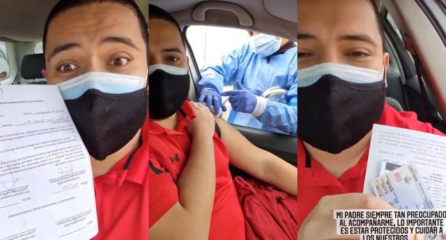 El periodista Samuel Suárez contó en Instarandula que recibió su primera dosis de la vacuna Sinopharm y se mostró emocionado.