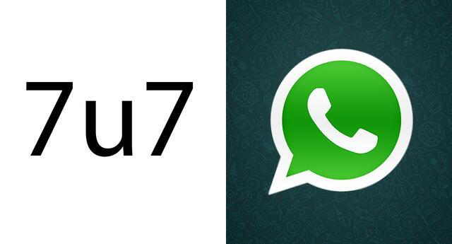 WhatsApp: ¿Qué significa '7u7' y cuándo debo usarlo?