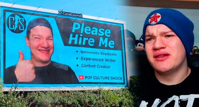 Chris reflexionó que si algo positivo puede salir de esto es que los jóvenes no se confíen en tener un título universitario.