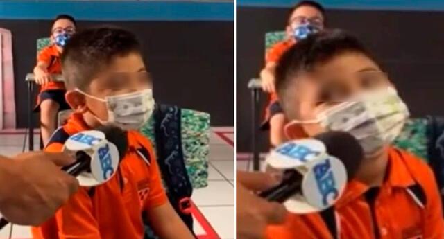 Con total honestidad, un pequeño estudiante mexicano descolocó a un reportero.