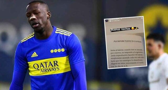 Luis Advíncula habría provocado más a la hinchada de Boca Juniors con su última historia.