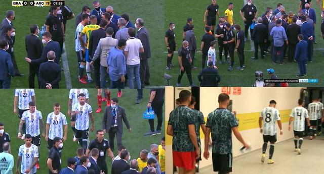 Lionel Messi y compañía se retiran del Argentina vs Brasil tras interrupción de Anvisa.