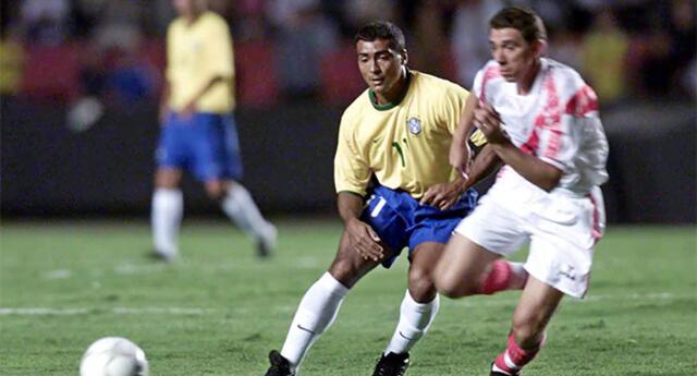 El 25 de abril 2001  la selección peruana le arrancó un empate 1-1 a Brasil .