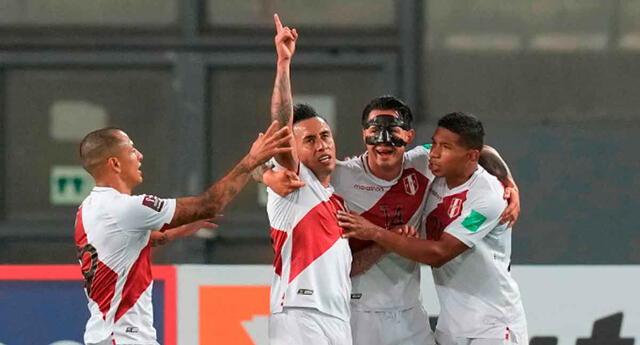 Christian Cueva marcó el 1-0 a favor de Perú sobre Venezuela.