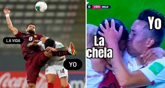 Disfruta de los más hilarantes memes que dejó el Perú vs. Venezuela.
