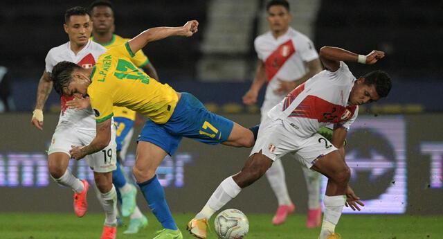 Perú y Brasil se enfrentan por la fecha 10 de las Eliminatorias Qatar 2022.